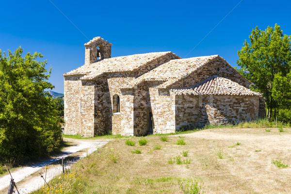 Kaplica Francja budynku podróży architektury Europie Zdjęcia stock © phbcz
