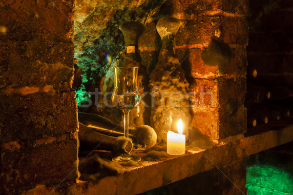 wine archive of wine cellar in Velka Trna, Tokaj wine region, Sl Stock photo © phbcz