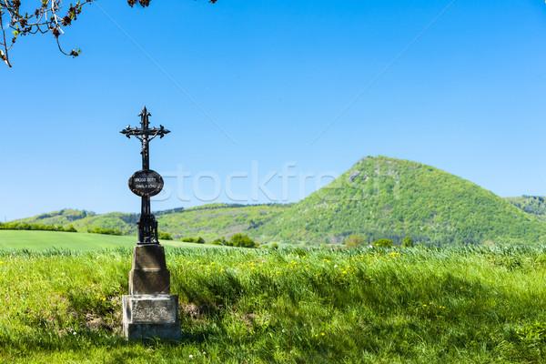 République tchèque paysage Europe colline naturelles extérieur Photo stock © phbcz