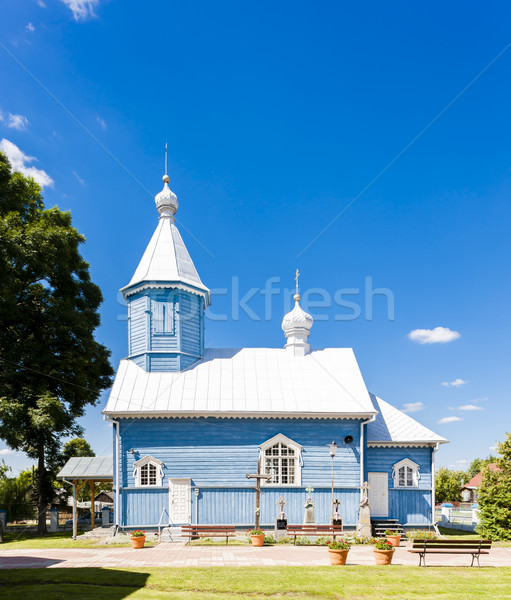 orthodox church, Stary Kornin, Podlaskie Voivodeship, Poland Stock photo © phbcz