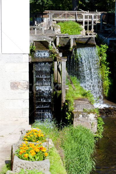 water mill, Ratiborice, Czech Republic Stock photo © phbcz