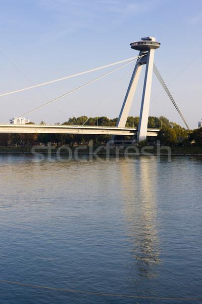 Nou pod Bratislava Slovacia călători clădirilor Imagine de stoc © phbcz
