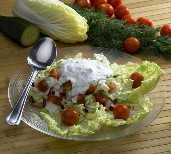 vegetables salad Stock photo © phbcz
