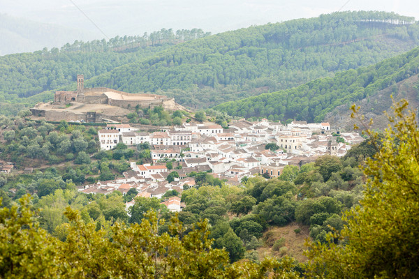 Almonaster La Real, Andalusia, Spain Stock photo © phbcz