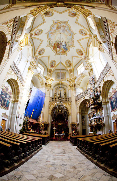 interior of pilgrimage church, Wambierzyce, Poland Stock photo © phbcz