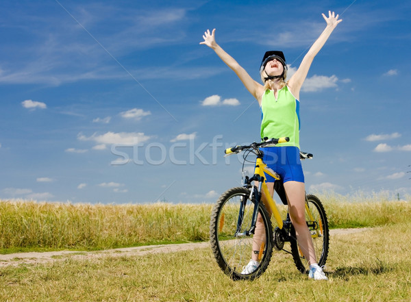 biker Stock photo © phbcz
