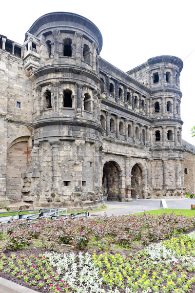 Porta Nigra, Trier, Rhineland-Palatinate, Germany Stock photo © phbcz