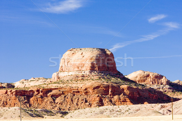 Landschap Arizona USA rock landschappen rotsen Stockfoto © phbcz