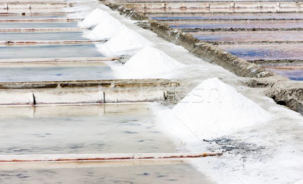 saline in Troncalhada, Beira, Portugal Stock photo © phbcz