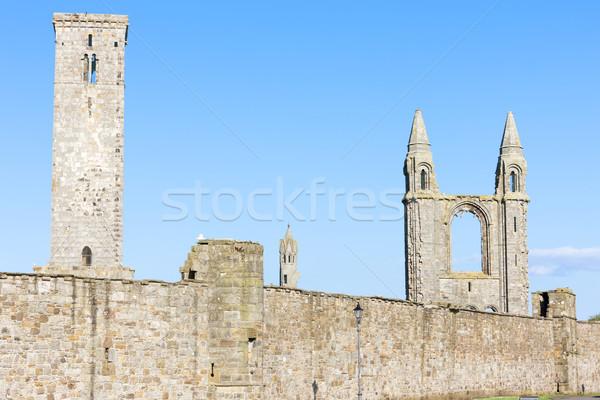遺跡 ルール 教会 大聖堂 建物 壁 ストックフォト © phbcz