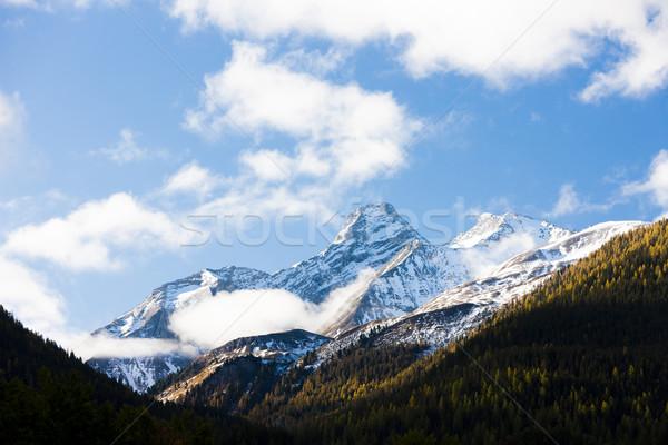 Alps landscape near Filisur, canton Graubunden, Switzerland Stock photo © phbcz