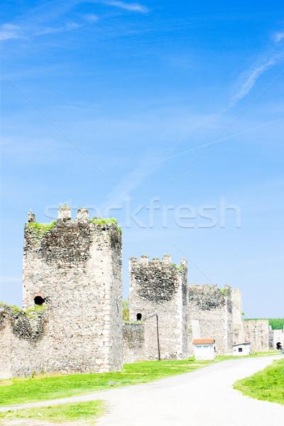 Smederovo Fortress, Serbia Stock photo © phbcz