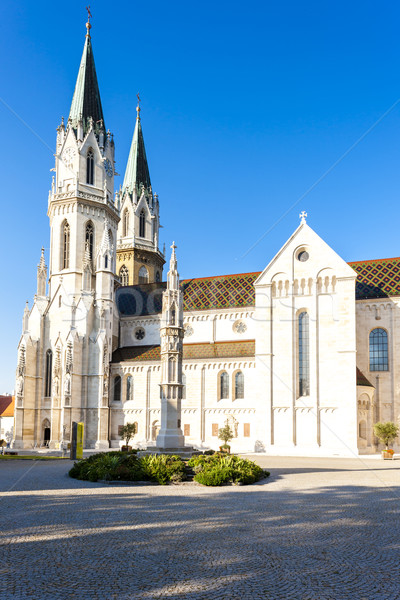 Monastère baisser Autriche bâtiment architecture gothique Photo stock © phbcz