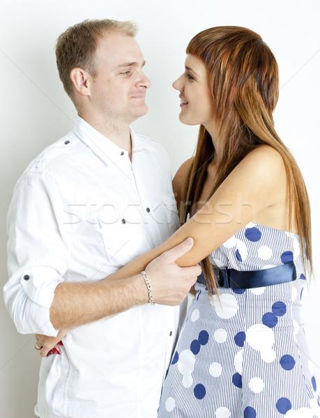 portrait of hugging couple Stock photo © phbcz