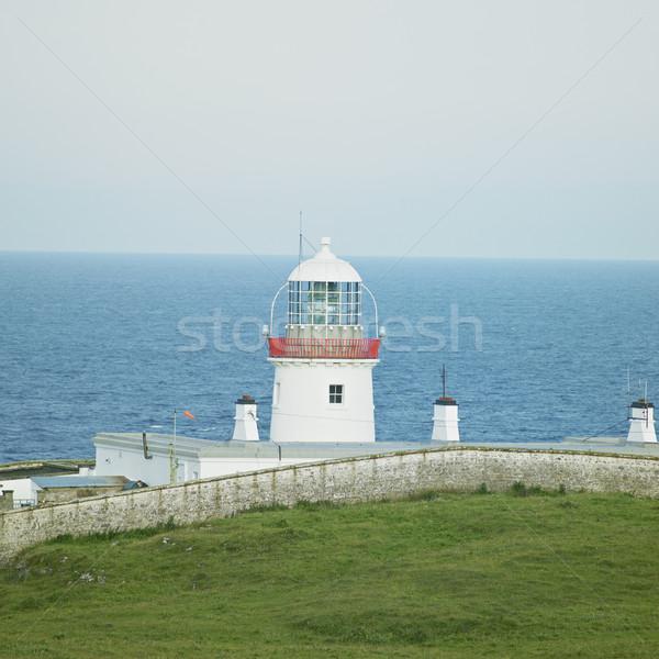 Foto stock: Faro · punto · Irlanda · edificio · luz · mar
