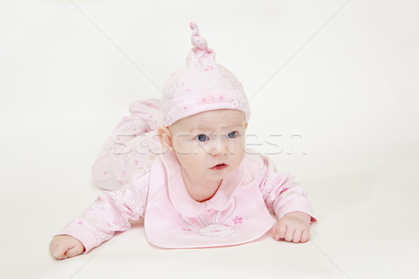 Kinderen kind meisjes kid Stockfoto © phbcz