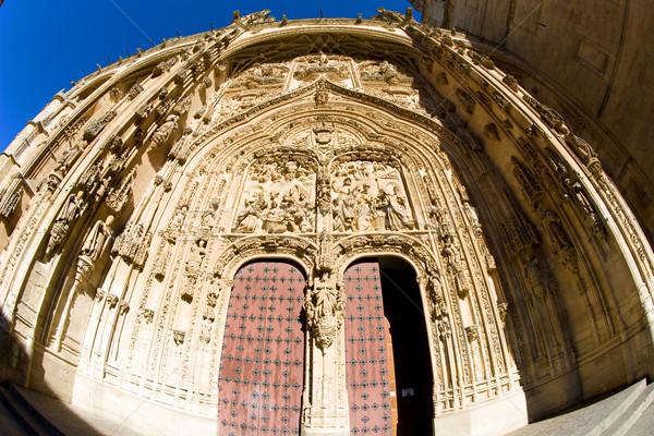 Gothic katedry Hiszpania budynku architektury historii Zdjęcia stock © phbcz