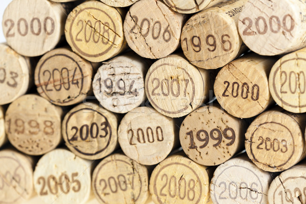 still life of corks Stock photo © phbcz