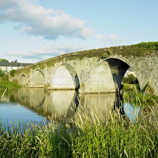 Most Irlandia budynku Europie mostów zewnątrz Zdjęcia stock © phbcz