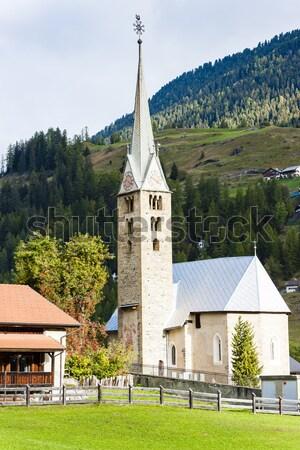 Bergun, canton Graubunden, Switzerland Stock photo © phbcz