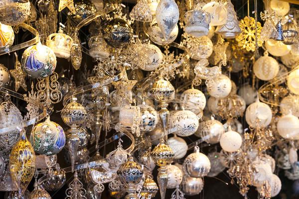 Рождества рынке Вена Австрия мяча объект Сток-фото © phbcz