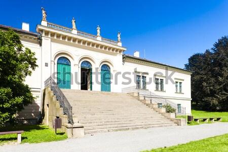 Vaina palacio República Checa edificio viaje arquitectura Foto stock © phbcz