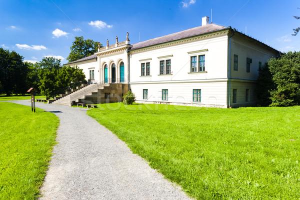ポッド 宮殿 チェコ共和国 建物 旅行 アーキテクチャ ストックフォト © phbcz