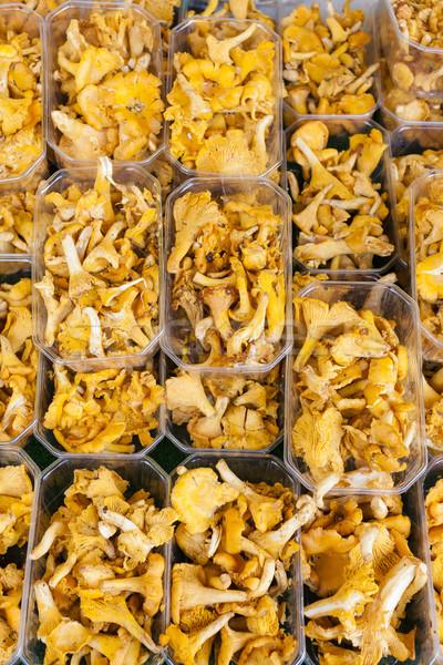 Piac Franciaország étel háttér egészséges kívül Stock fotó © phbcz