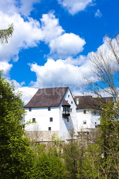Castelo República Checa viajar arquitetura ao ar livre fora Foto stock © phbcz