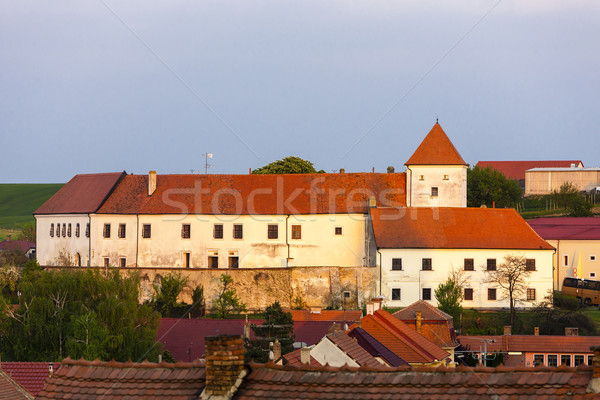 castle in Cejkovice, Czech Republic Stock photo © phbcz