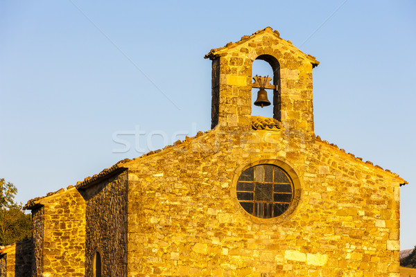 Kapel Frankrijk gebouw architectuur Europa Stockfoto © phbcz