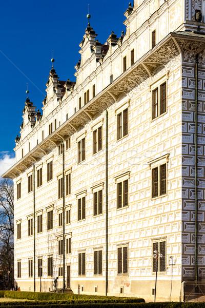 Palota Csehország épület építészet Európa kint Stock fotó © phbcz