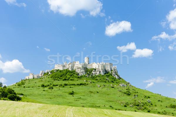城 スロバキア アーキテクチャ 歴史 遺跡 屋外 ストックフォト © phbcz