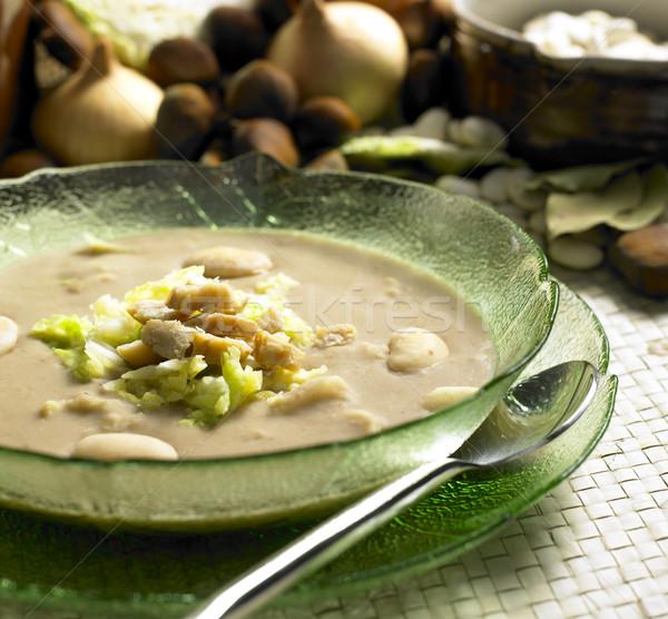 栗 スープ キャベツ 食品 健康 スプーン ストックフォト © phbcz