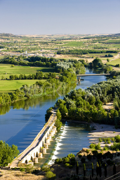 Roman bridge, Toro, Zamora Province, Castile and Leon, Spain Stock photo © phbcz