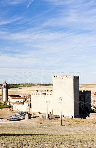 Ampudia, Castile and Leon, Spain Stock photo © phbcz