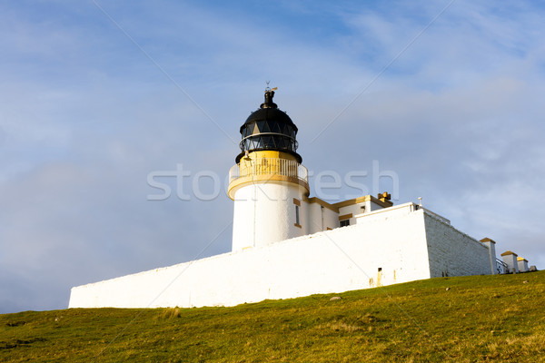 Stock photo: Stoer Lighthouse, Highlands, Scotland