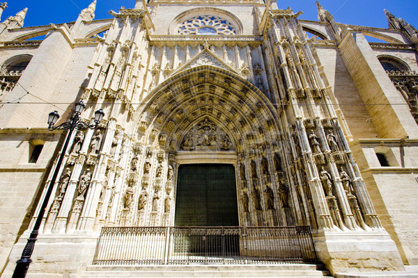 Cathedral of Seville, Andalusia, Spain Stock photo © phbcz