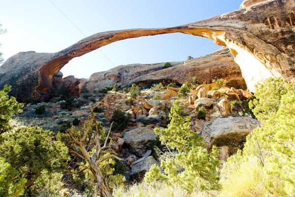 Peisaj arc parc Utah SUA roci Imagine de stoc © phbcz