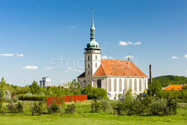 Church of the assumption, Most, Czech Republic Stock photo © phbcz
