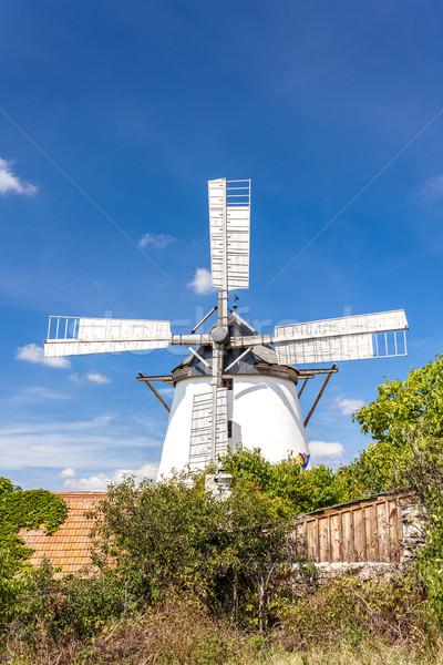 Stock photo: windmill in Retz, Lower Austria, Austria