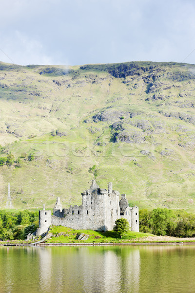 Kilchurn Castle, Loch Awe, Scotland Stock photo © phbcz