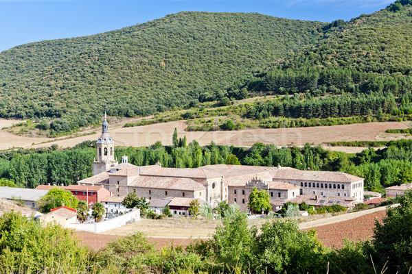 Yuso Monastery, San Millan de la Cogolla, La Rioja, Spain Stock photo © phbcz