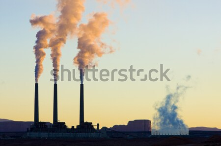 power plant in Page, Arizona, USA Stock photo © phbcz