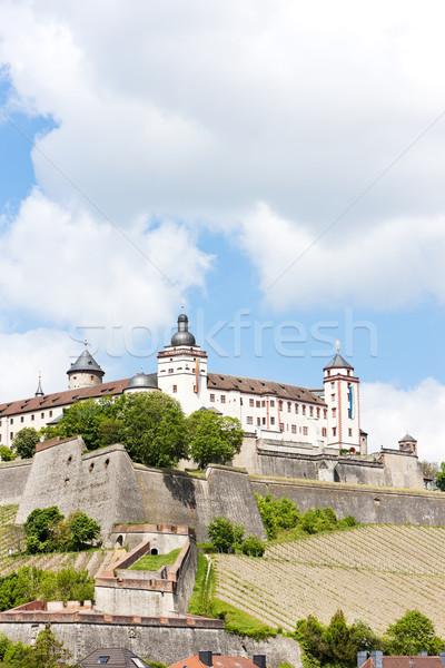 Marienberg Fortress, Wurzburg, Bavaria, Germany Stock photo © phbcz