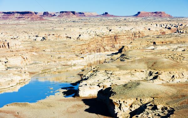Jezioro kanion Utah USA krajobraz rock Zdjęcia stock © phbcz