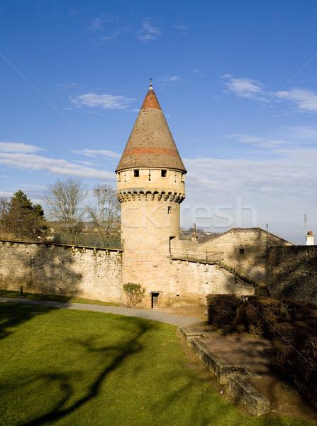 Abbey of Cluny, Burgundy, France Stock photo © phbcz