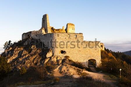 ストックフォト: 城 · スペイン · 建物 · アーキテクチャ · 歴史 · 遺跡