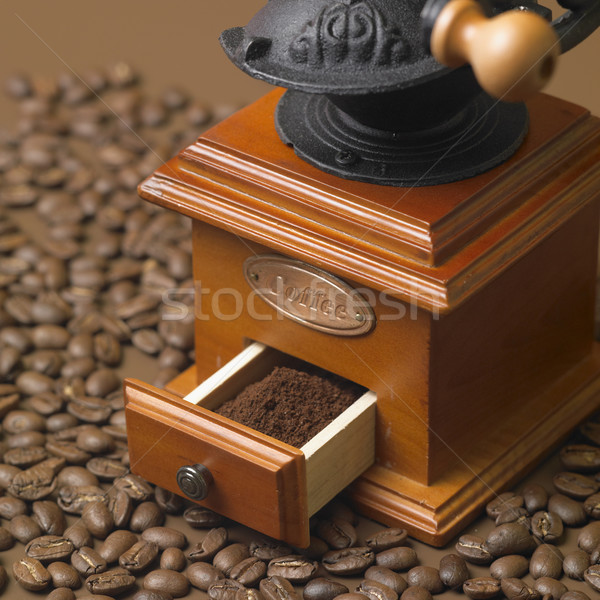 coffee mill Stock photo © phbcz