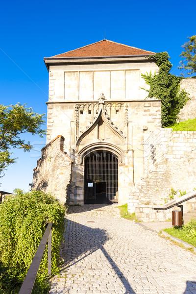 ゲート 城 ブラチスラバ スロバキア アーキテクチャ ヨーロッパ ストックフォト © phbcz